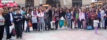 Хепенинг на младите по повод Денот на Европа