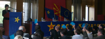 Раководството на СДСМ даде отчет пред делегатите