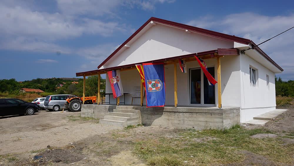 """""""Срби за Србе"""" и """"Спона"""" изградиле нову кућу породици Лазaревски у Старом Нагоричану"""