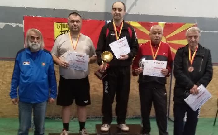 Бугарски пингпонгар-ветеран победник на Меѓународниот турнир во Куманово