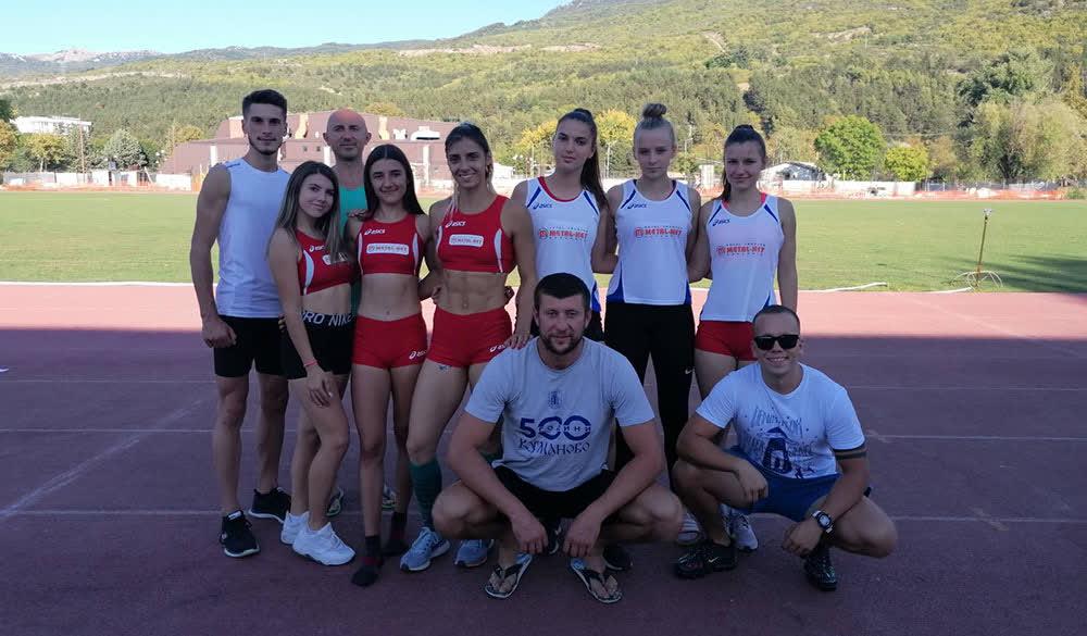 Кумановски атлетичари освоија 8 медали на Државно сениорско првенство во Охрид