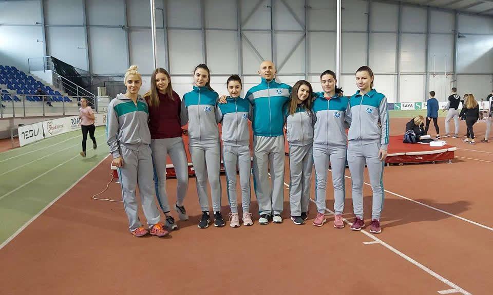 Кумановски атлетичарки учествуваа на Националното првенство на Србија за младинци