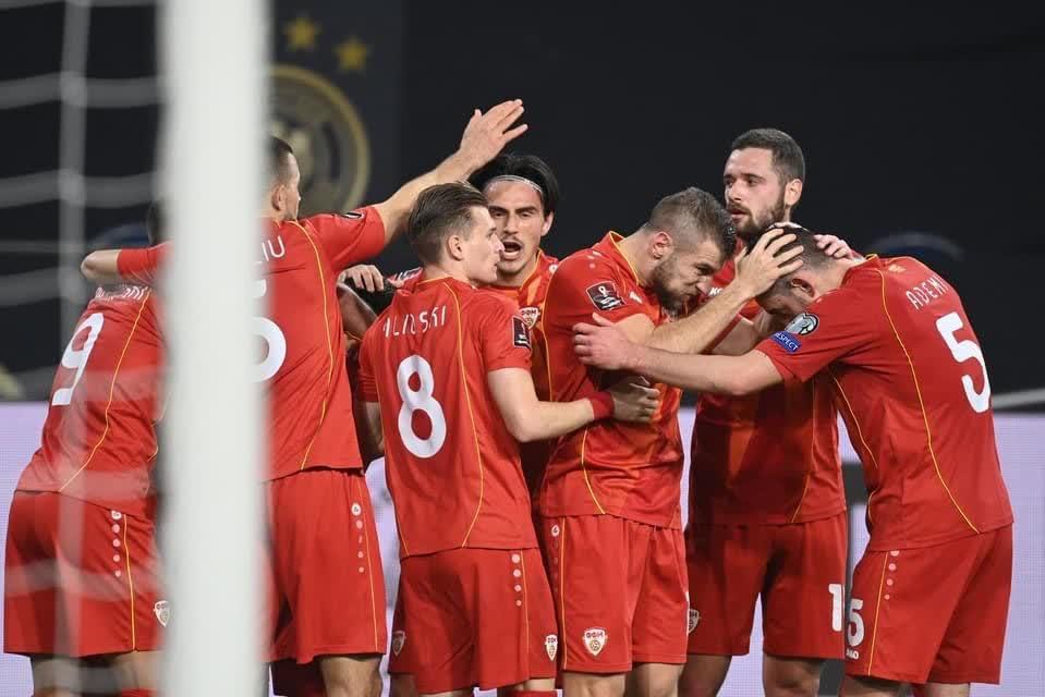 Голем триумф на Македонија против Германија