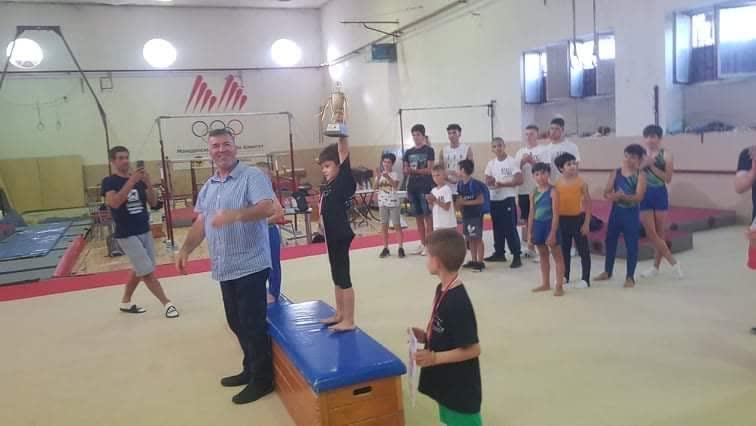 Два медала за младите кумановски гимнастичари