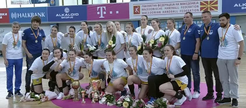 ЖРК Куманово го одбрани трофејот во Купот