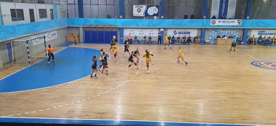 ЖРК Куманово игра пријателски натпревар со конкурентот Металург