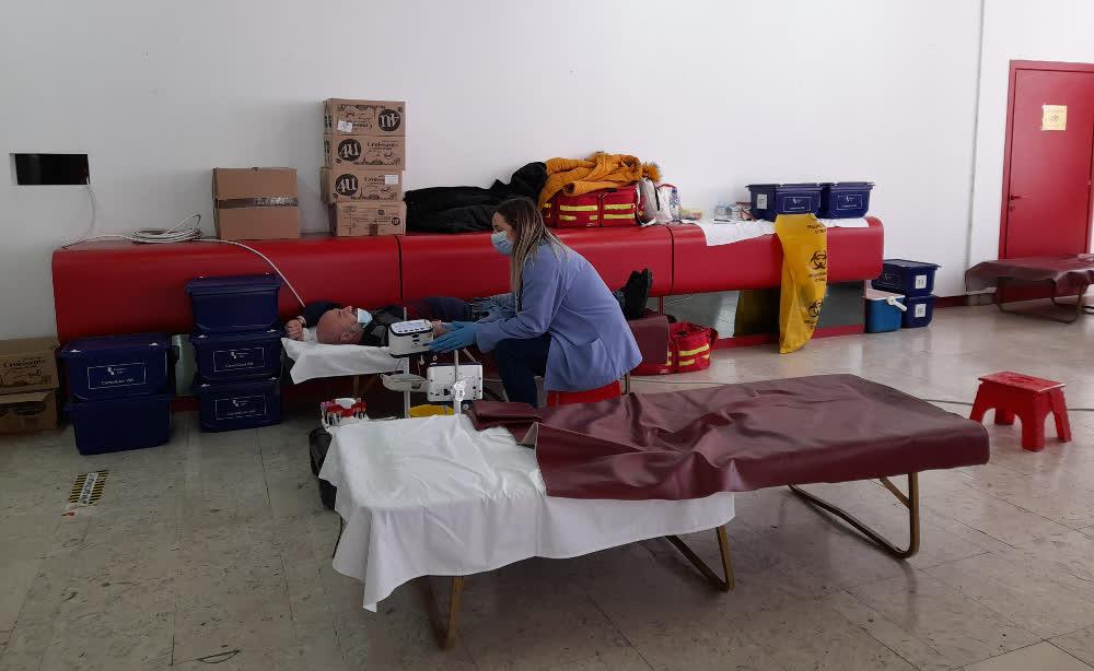 Крводарителска акција во Центарот за култура во Куманово