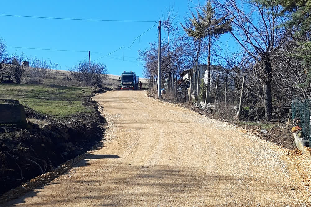 Се асфалтира патот до маалото Брадиновци во Младо Нагоричане