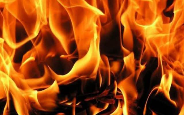 Пожар во напуштена куќа во Руѓинце