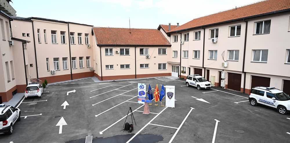 Со 55 милиони денари реконстуирана е зградата на Секторот за внатрешни работи Куманово