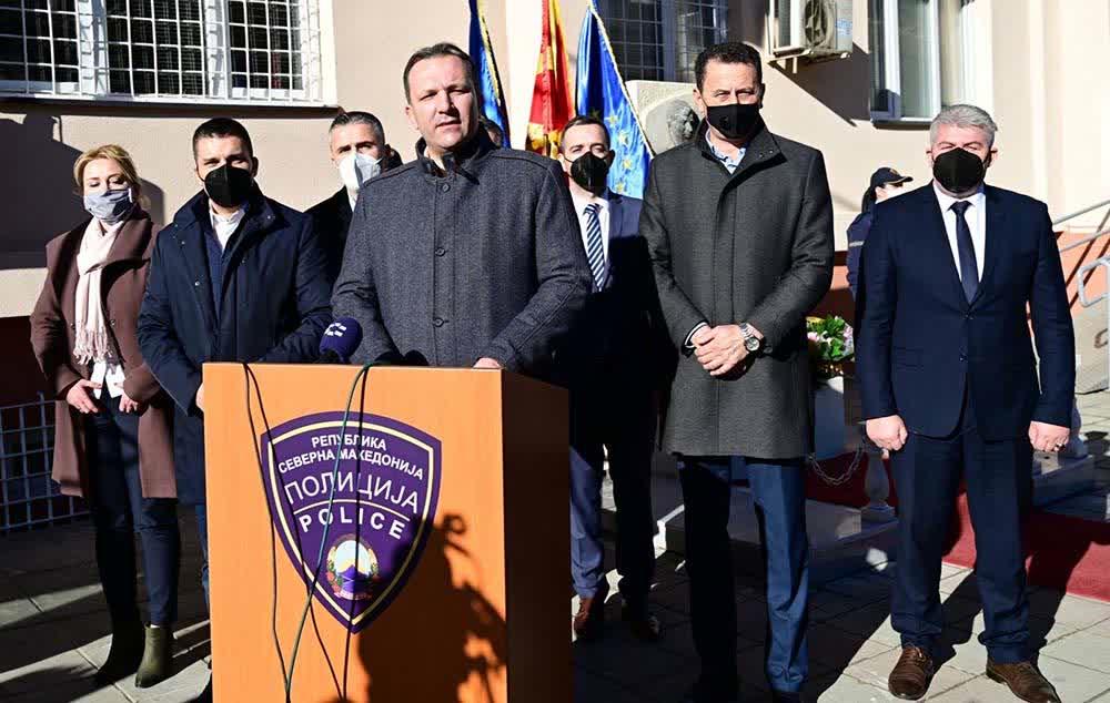 Спасовски во Крива Паланка: Инвестираме во стручна, опремена и ефикасна полиција