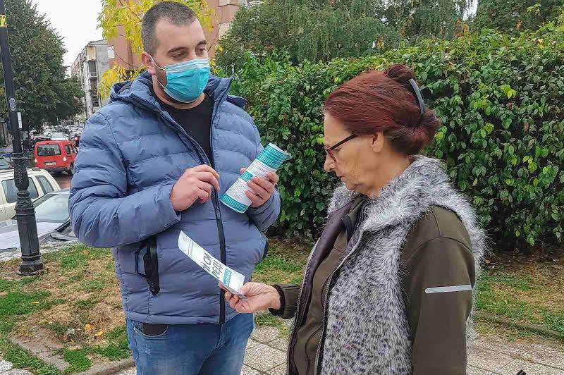 ДИК со едукативниот караван го посети Куманово - Ти си на ред! Излези, гласај!