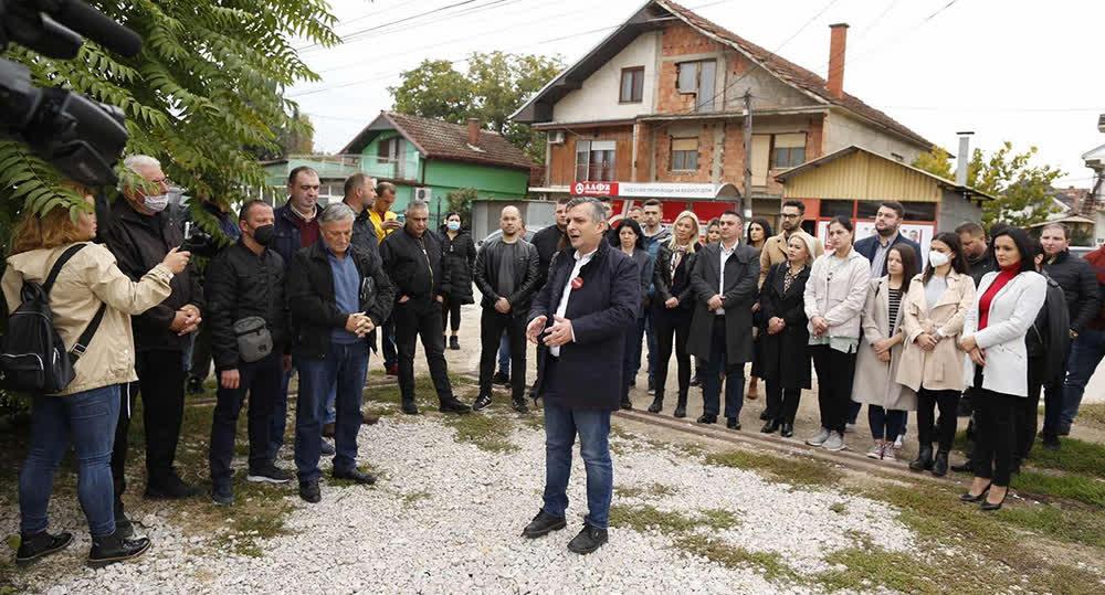 Илиевски најави замена на азбесните водоводни цевки на Никола Тесла