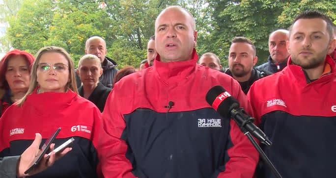Димитриевски побара поддршка од граѓаните: Куманово секогаш билo предвесник на промените
