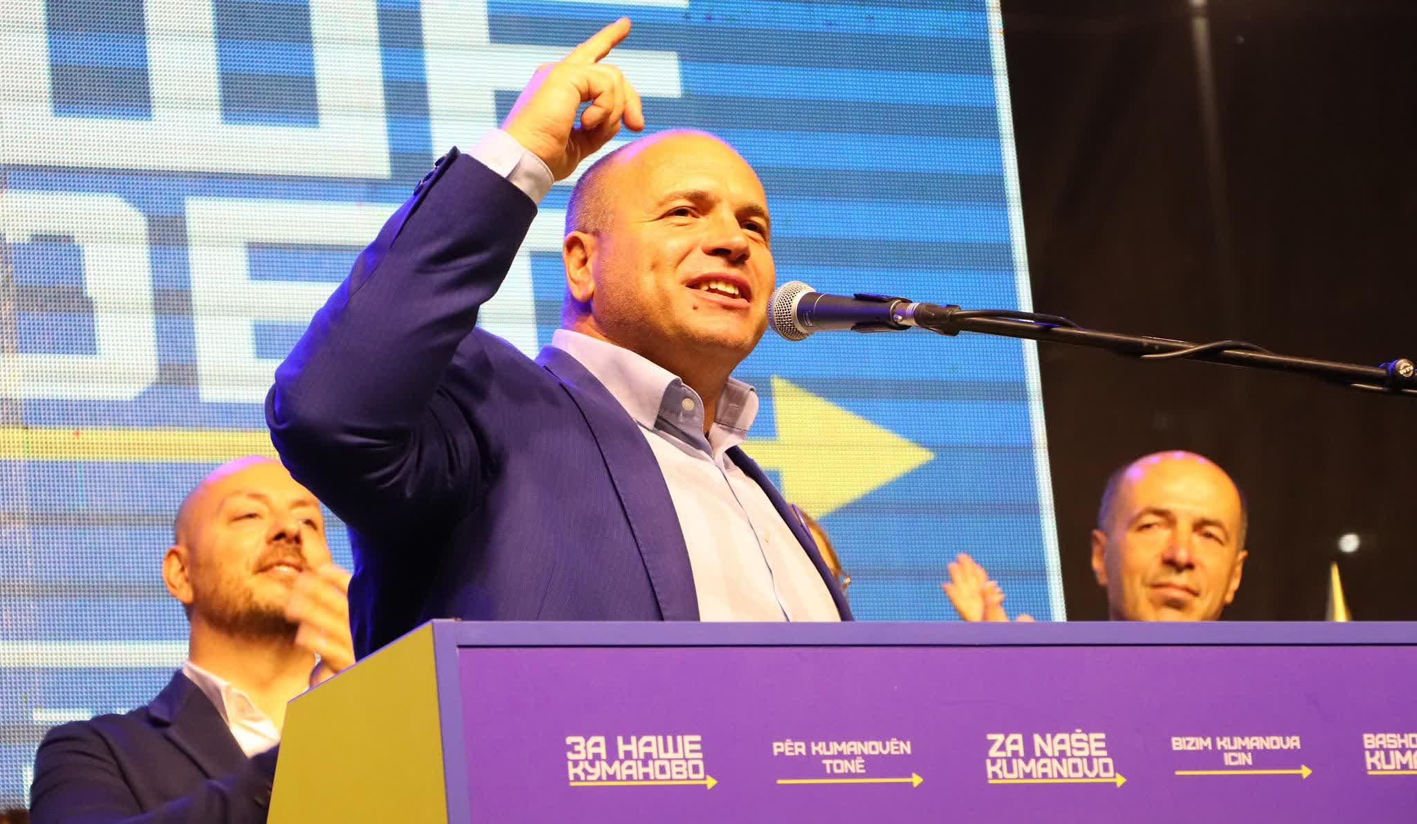 Димитриевски ги претстави проектите пред граѓаните за модерен лик на Куманово