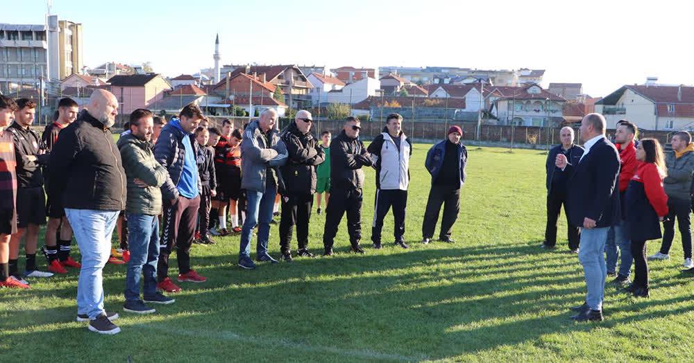 Димитриевски: Градскиот стадион ќе добие целосно нов лик