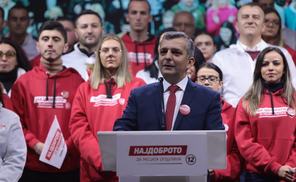 Илиевски: Успесите од државно ќе ги донесеме на локално ниво, да го одбереме најдоброто за Куманово