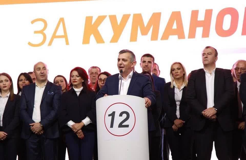 СДСМ ја има најдобрата понуда за Куманово, порача Илиевски