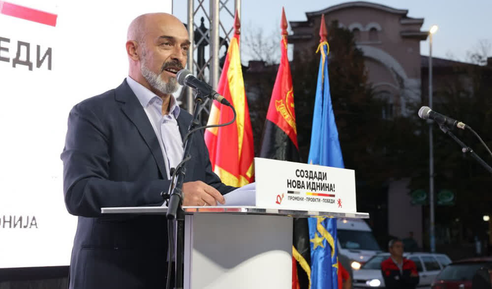 Михајловски побара поддршка од граѓаните и ги повика да гласаат за иднината на Куманово