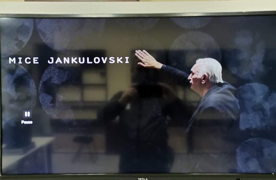 Мице Јанкуловски- уметник на светот во црна форма