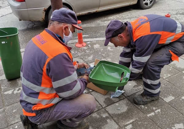 Поставени нови садови за смет во Крива Паланка