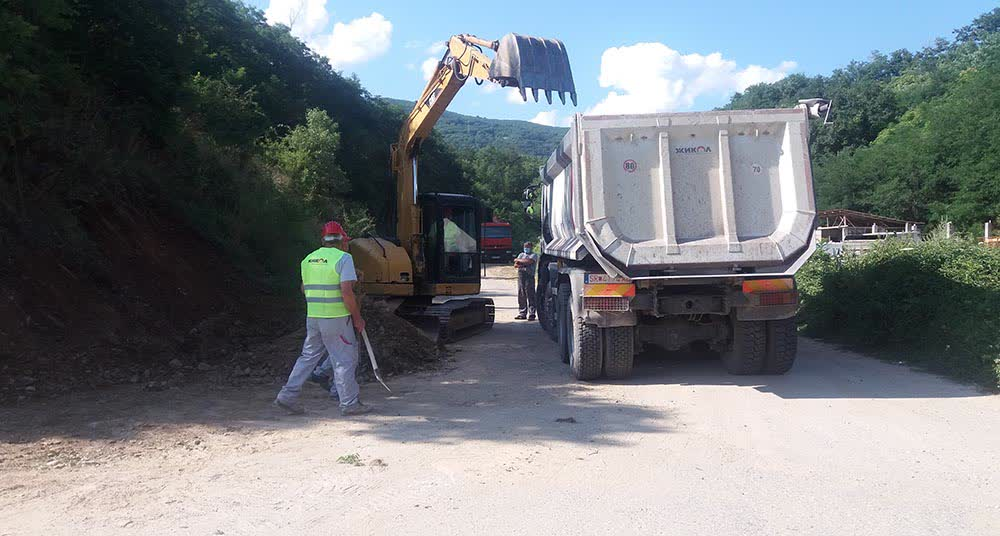 Се гради пристапен пат кон новите градски гробишта во Крива Паланка