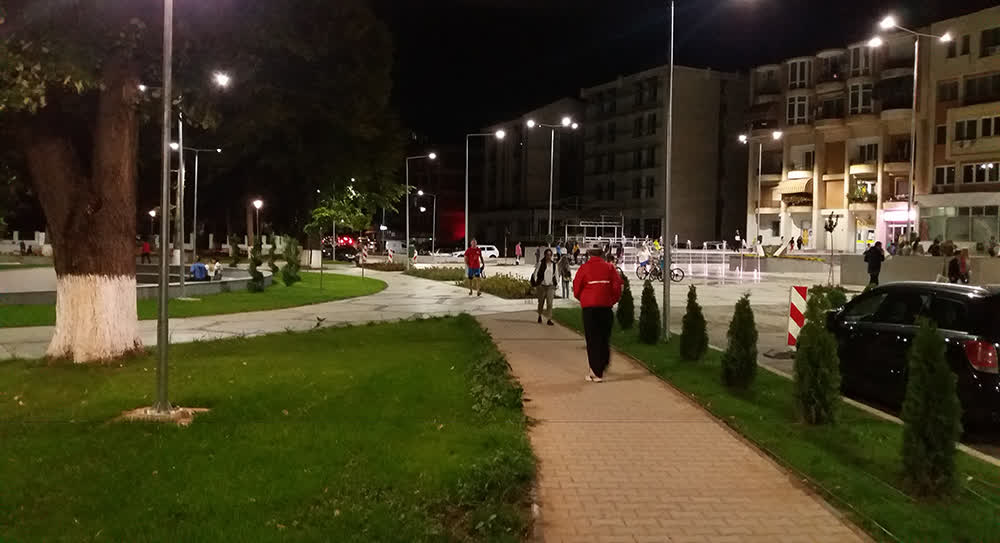 Свечено пуштен во употреба новиот Градски плоштад во Крива Паланка