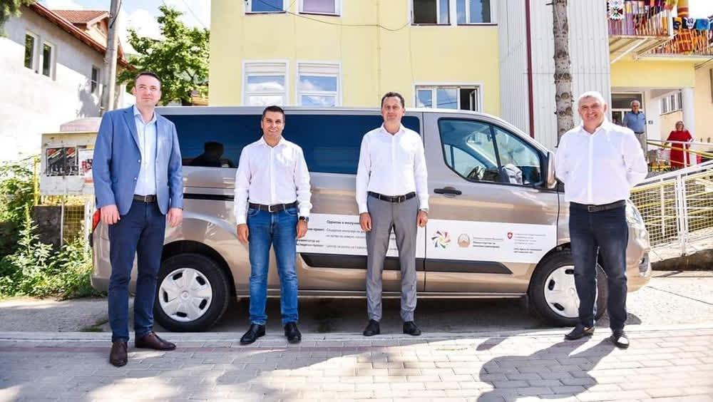Ново возило за Дневниот центар за лица со посебни потреби од Крива Паланка