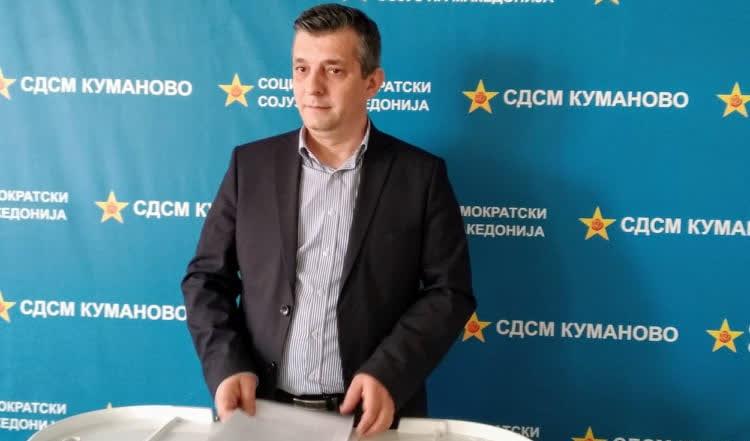 Оливер Илиевски кандидат на СДСМ за градоначалник на Куманово