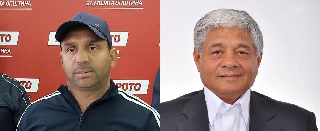 Се степаa боксерите Реџеповски и Салиевски - кандидати за советници од листата на Димитриевски и на СДСМ