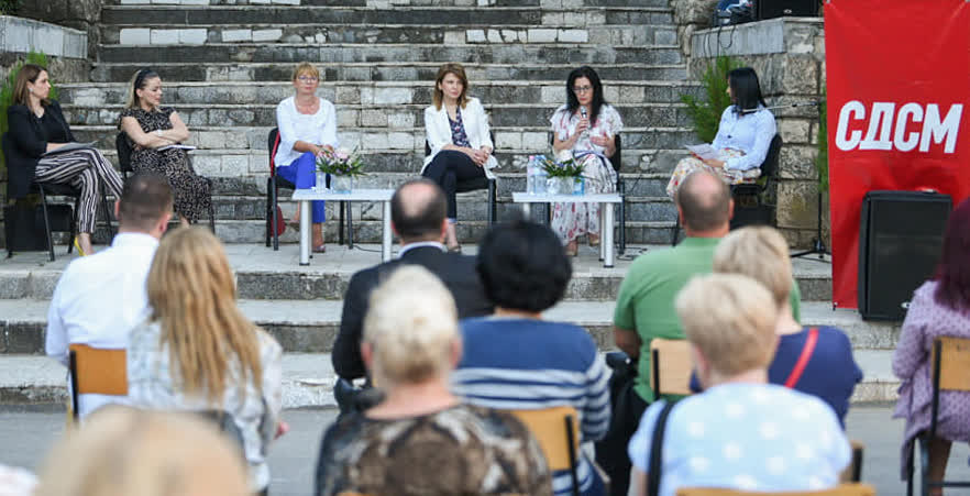 Ќе се бориме за што повеќе кандидатки за градоначалнички и носителки на листите за советници, порачаа од Форумот на жени на СДСМ