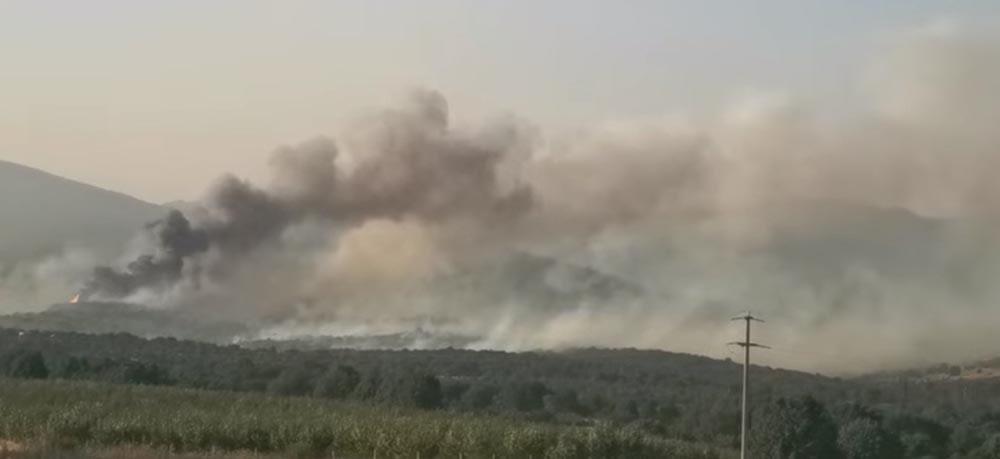 Голем пожар во Киселица, кривопаланечко