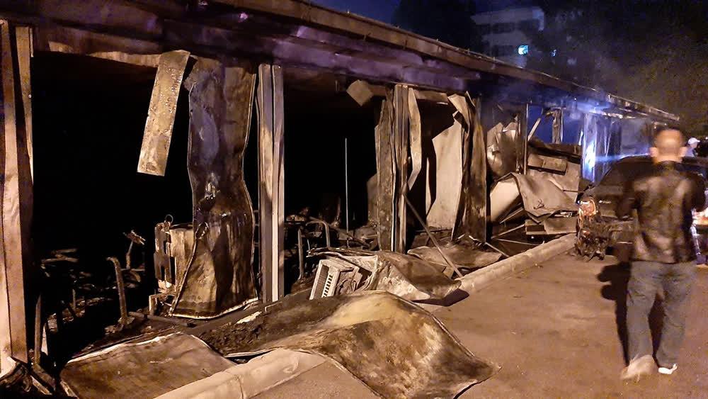 Десет загинати во пожарот во ковид-центарот во Тетово